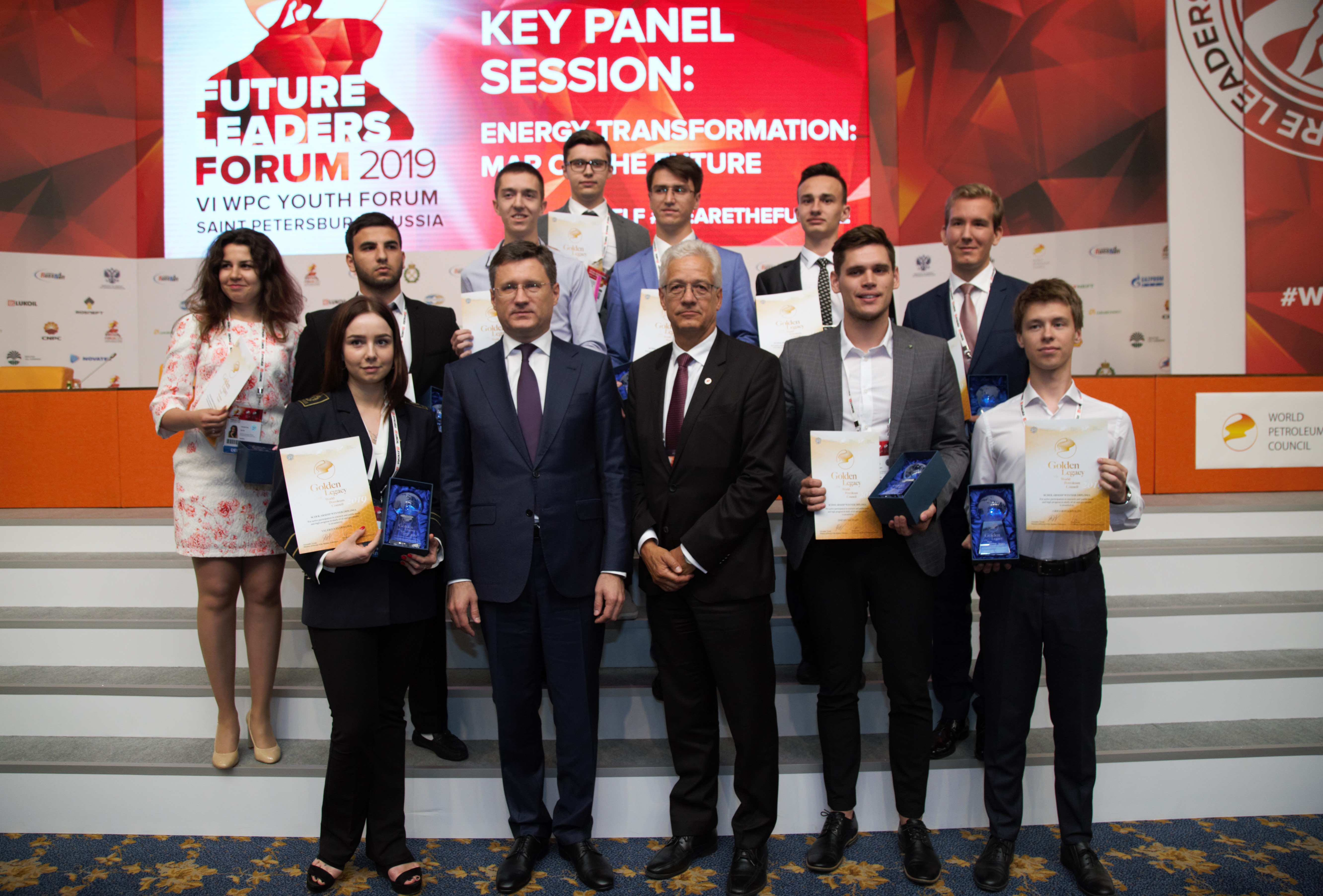 Golden Legacy award ceremony was held during the Future Leaders Forum